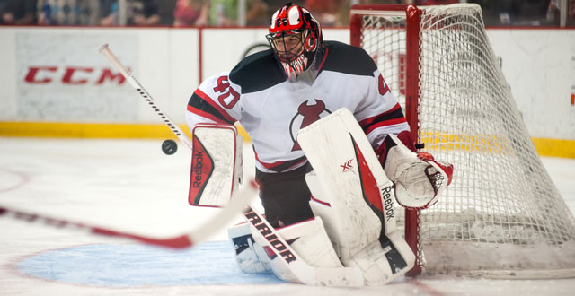 Scott Clemmensen, who had 12 wins in the AHL last season, has been named the Devils goaltending developmental coach