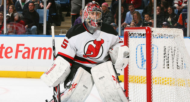 Yann Danis went 7-13-4 with four shutouts and a 2.47 GAA in 35 AHL games last season