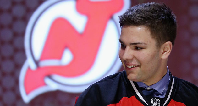 John Quenneville was the 30th overall pick during the 2014 NHL Draft