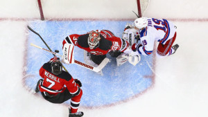 Devils face the Rangers Monday at 7 pm