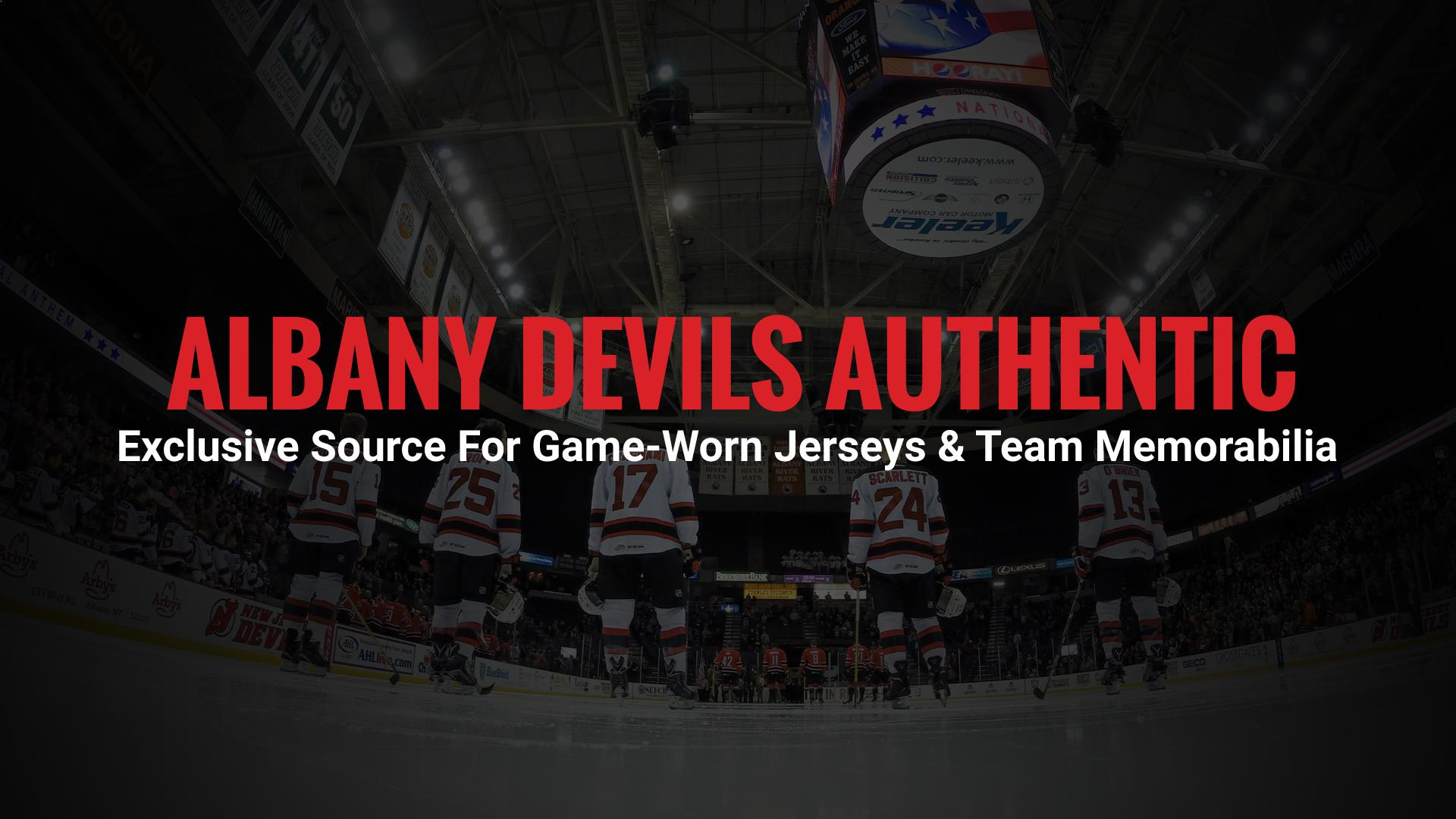 Albany Devils Authentic is the official eBay home of the Albany Devils  Hockey Team.