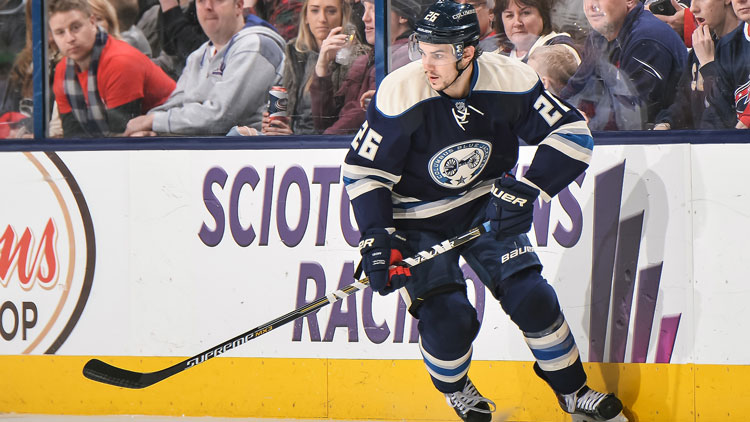 Corey Tropp, who is under contract with the Chicago Blackhawks, will play for the A-Devils