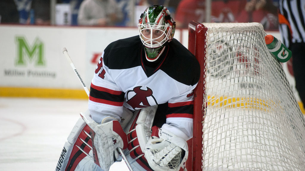 Scott Wedgewood is 6-2-2 with a 1.67 GAA and a .932 SV%