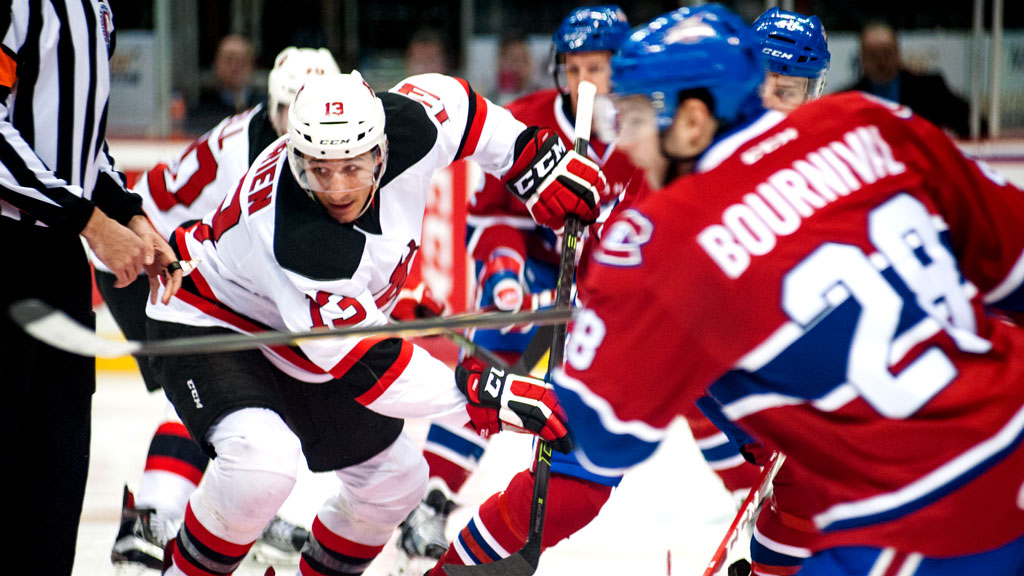 The Devils continue their season-long six game road trip Friday.
