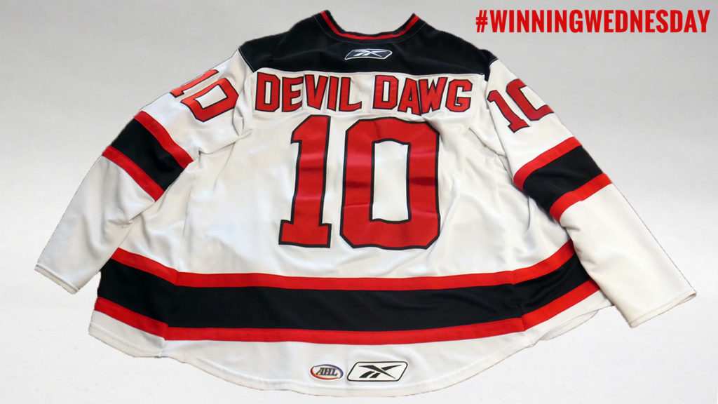 Winningwednesday devil dawg jersey albany devils for Northeast ski and craft beer showcase