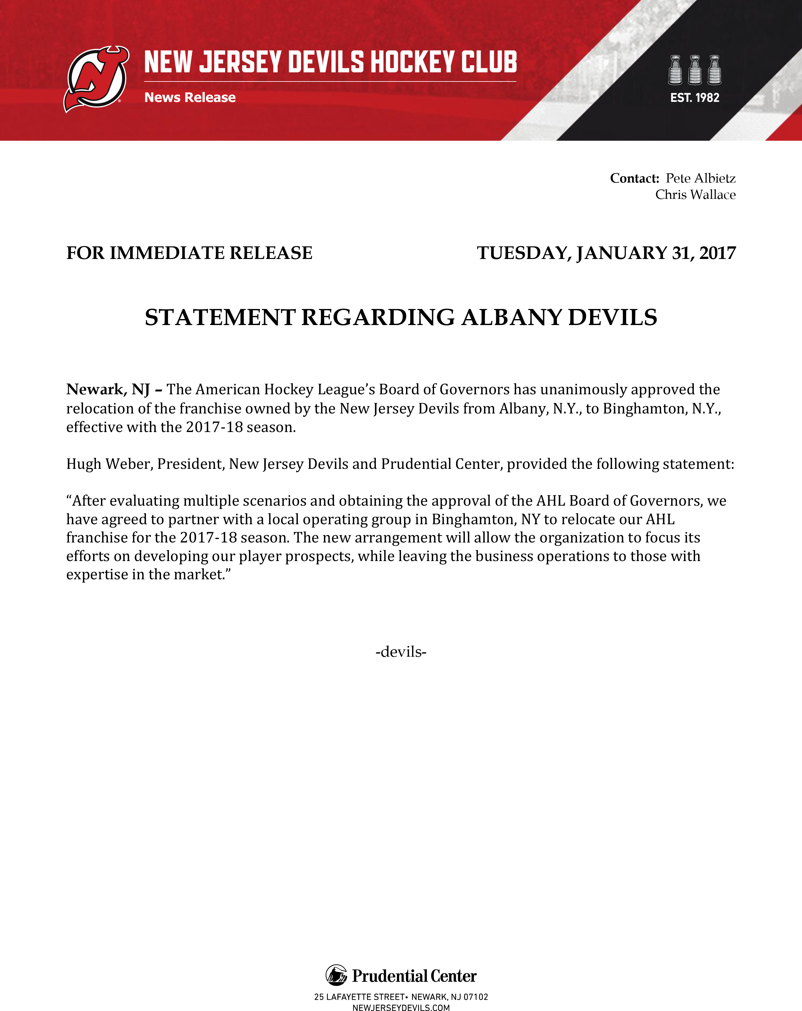statement-regarding-albany-devils