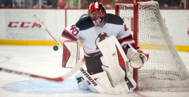 Scott Clemmensen, who had 12 wins in the AHL last season, has been named the Devils goaltending developmental coach