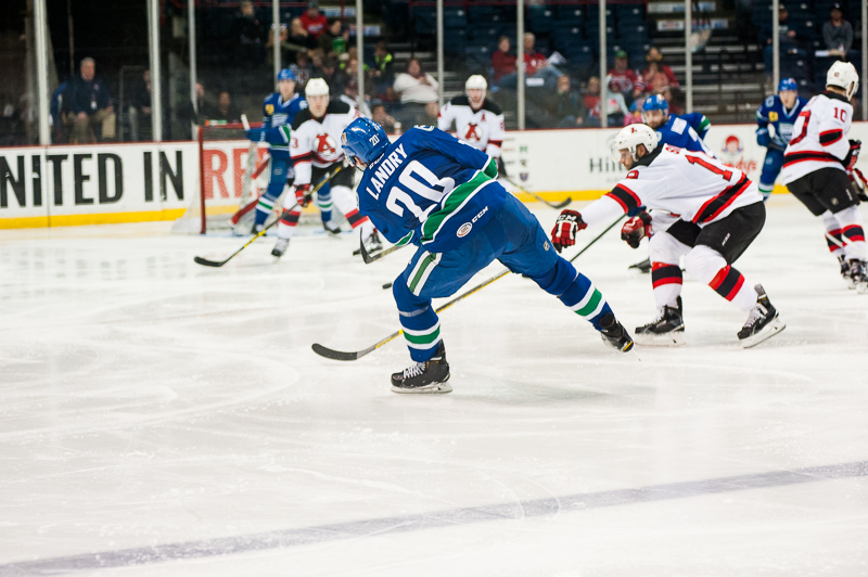 The Devils were able to get in the Comets shooting lanes for much of the game.