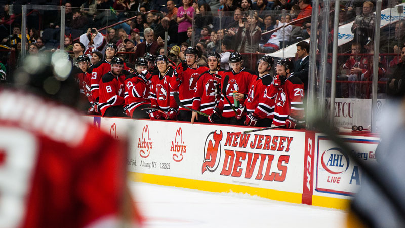 The Devils bench could look different after Monday's NHL Trade Deadline.