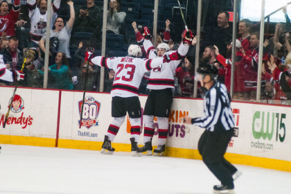 AHL: Rookie Lappin Strikes Again As Devils Stun Marlies