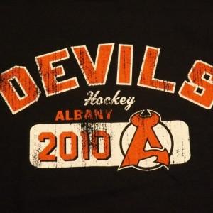 Devils Black Vintage TShirt