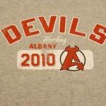 Devils Gray Vintage TShirt