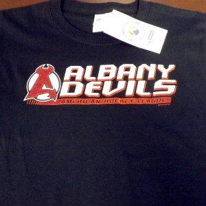 Albany-Devils-American-Hockey-League-T-Shirt-(Black)