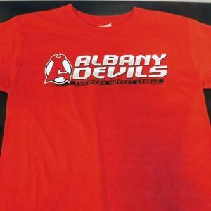 Albany-Devils-American-Hockey-League-T-Shirt-(Red)